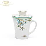 M20玛戈隆特西湖盛宴骨瓷滤茶杯  礼盒装
