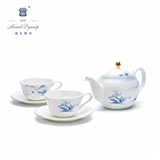 瑪戈隆特6頭茶具絲路盛宴中國風骨瓷茶具套裝