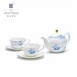 玛戈隆特6头茶具丝路盛宴中国风骨瓷茶具套装