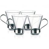 波米欧利(Bormioli Rocco)伊司珑咖啡杯4件套