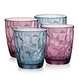波米歐利(Bormioli Rocco) 鉆石水杯4件裝