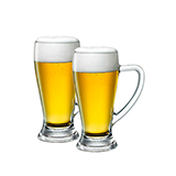 波米欧利(Bormioli Rocco)巴伐利亚啤酒杯对杯