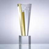 奖杯定制08 精致水晶 可免费排版刻字打LOGO 纪念礼品