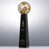 奖杯定制07 顶级水晶 可免费排版刻字打LOGO 15套起订