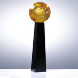 奖杯定制04 顶级水晶制作 可免费排版刻字打LOGO 25套起订