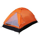 领路者橙色有约双人帐篷LZ-0501 涤纶材质防水耐磨 送朋友
