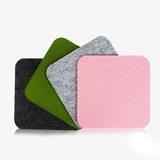 毛氈鼠標墊 時尚個性可加印企業LOGO起訂量2000 企業團購禮品