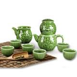 【乾唐轩活瓷】势在必得茶具 活瓷材质设计高贵典雅 商务答谢礼品