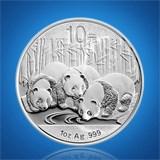 【中国金币】2013版熊猫币1盎司纯银币 Ag999收藏珍品可企业定制企业团购礼品