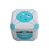 明家魔方创意安全插座SP-498U2BE 便捷充电 居家创意礼品