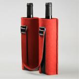 尊享款红酒礼品袋-毛毡系 送家人朋友的时尚商务礼品