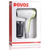 奔腾简洁便携式旅游套装PQ2601 套装配置剃须刀+电吹风