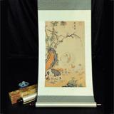 絲綢之路《開泰圖》·郎世寧(清)真絲織錦 高端典雅 送禮珍藏必選