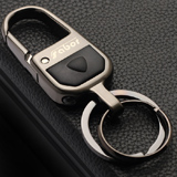 薩博爾精品鑰匙扣LS-801 (鐳射眼)黑鎳拉絲工藝 耐久磨刮不掉色新年禮品