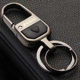 萨博尔精品钥匙扣LS-801 (镭射眼)黑镍拉丝工艺 耐久磨刮不掉色新年礼品