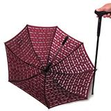 卡希尔LK-905(老有福)精品功能性雨伞拐杖设计 专为老人贴心新年礼品