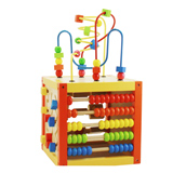 兒童節禮物推薦兒童節玩具 木玩世家多功能智力盒YT2021 開發智力