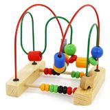 木玩世家串珠绕珠架 儿童节玩具