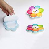 彩色花瓣广告便签本 广告促销品可提供多种款式 可定制logo 起订量2000