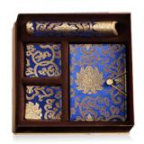 杭州造府富貴寶花六件套 傳統織錦藝術 收藏珍品商務禮品
