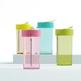 艾可思J-01308绿叶随手杯(可定制)  创意居家礼品