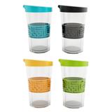 艾可思U-01052硅胶迷宫双层保温杯(可定制)  创意居家礼品