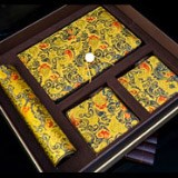 杭州造府马王堆丝绸六件套 丝绸材质古朴典雅外事礼品