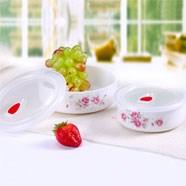 生活元素花语SY-201 唐山骨质瓷花色清新薄如纸白如玉 居家礼品