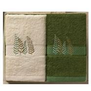 洁丽雅毛巾礼盒装清影2 竹浆纤维材质抗菌抑菌除臭防紫外线 三八节礼品员工福利