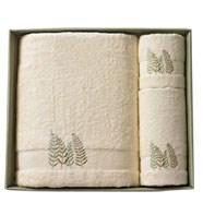 洁丽雅毛巾礼盒装清影3 竹浆纤维抗菌抑菌除臭 员工福利三八节礼品
