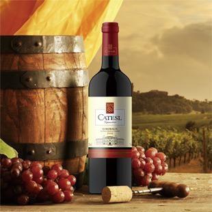 法国卡特斯红葡萄酒(2008)