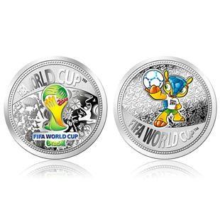 巴西FIFA世界杯纪念银章