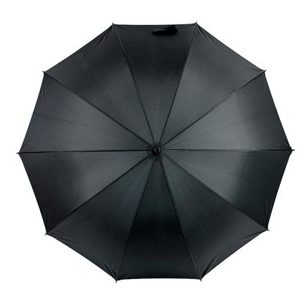 弯钩柄伞架雨伞