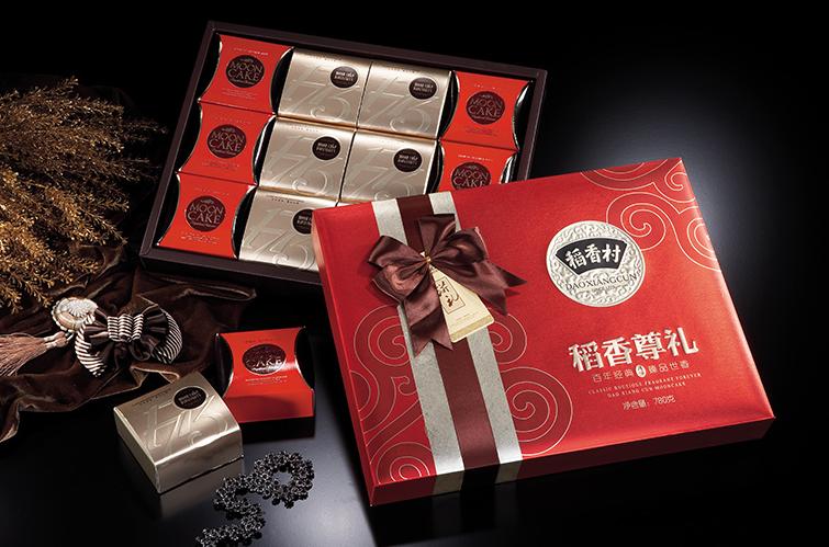 稻香村月饼礼盒的每一种味道都堪称经典,质糯不腻,精选原料,口感非常