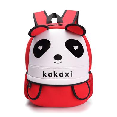卡卡希可爱大熊猫书包