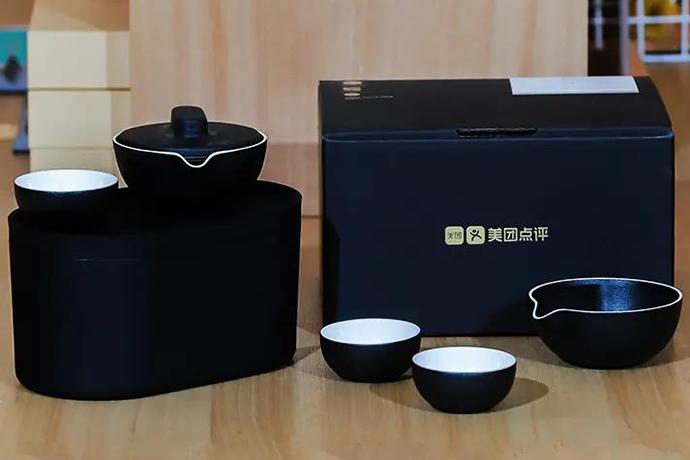 美團定制小巨蛋茶具