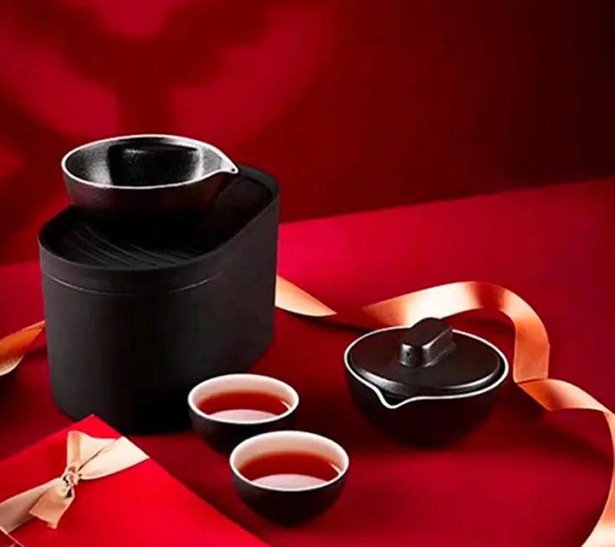 新年商务礼品小巨蛋茶具