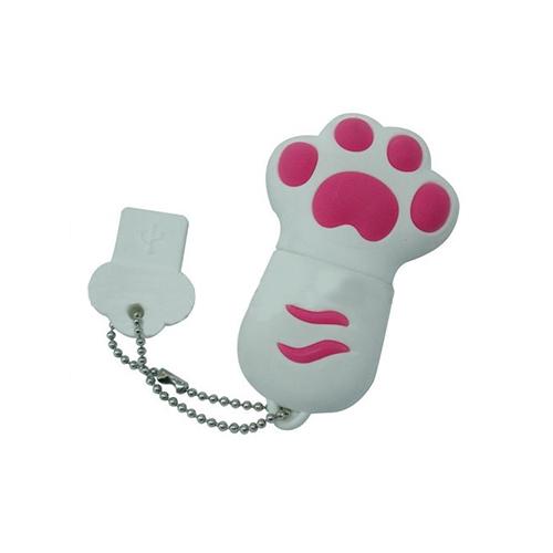 卡通猫爪造型u盘