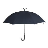 雨中鸟晴雨伞可站立直骨伞