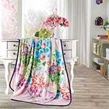 富安娜珊瑚绒毯