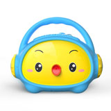 小鸡叫叫儿童早教故事机便携卡通播放器迷你小音箱标准版(蓝色)