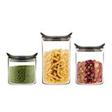 阿摩厨房  魔力双耳保鲜罐3件套