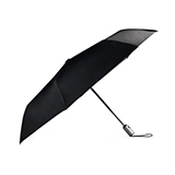 乐上/LEXON LU16 AIRLINE 迷你全自动雨伞 黑色