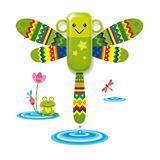 生活演异 花颜墙贴洗漱套装 绿蜻蜓