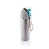 荷兰XD Design Neva时尚不锈钢运动型水壶500ml 青色