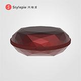 风格派Stylepie暖手宝充电宝4500mAh 红色