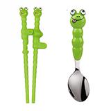 怡饭EAT4FUN 动物乐园筷勺两件套