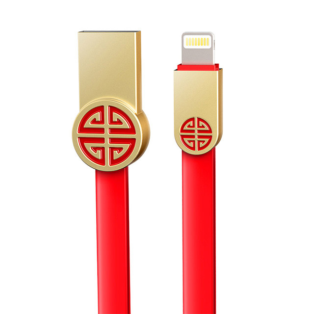 幻响i-mu 中国红数据线