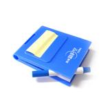 塑料外壳广告便签(含笔)广告促销便签本 彩色外壳,美观实用可定制logo 起订量2000