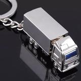 集装箱卡车钥匙扣 时尚个性卡车造型 市场促销礼品